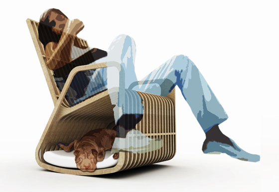 Rocking Chair Hybrid Furniture