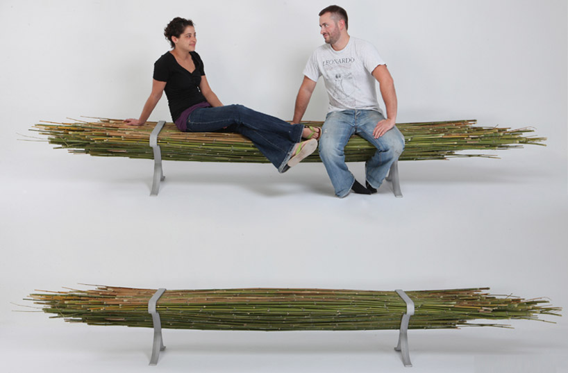 Bamboo bench 2 -