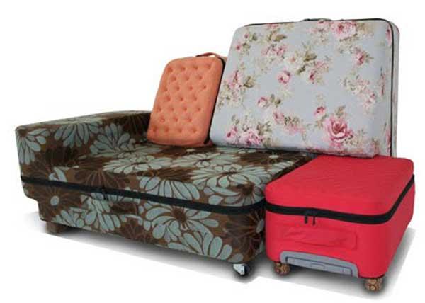 กระเป๋าแปลงร่างเป็นโซฟา..อย่างนี้ก็มีด้วย 2 - idea