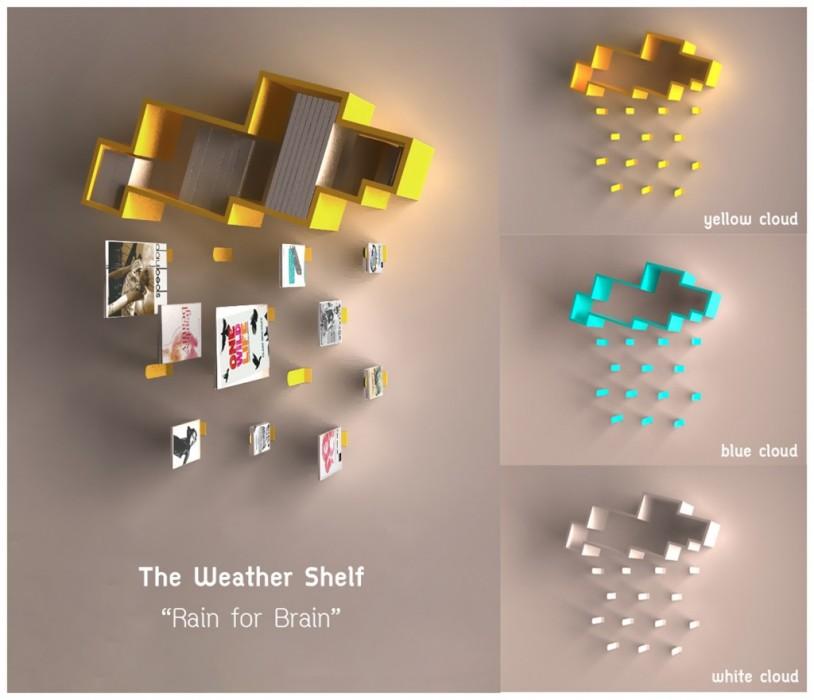 "The weather shelf : ""Rain for Brain"" 2 - rain and brain"
