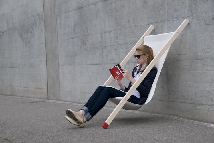 Deck chair นั่งยังไง!? 13 - bernhard burkard