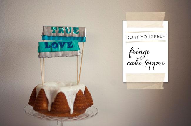 DIY : Cake Topper 13 - DIY