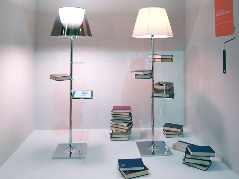 bibliotheque nationale 13 - Lamp