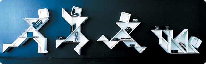 Forward Thinking Shelves For Your Home 2 - contemporary art