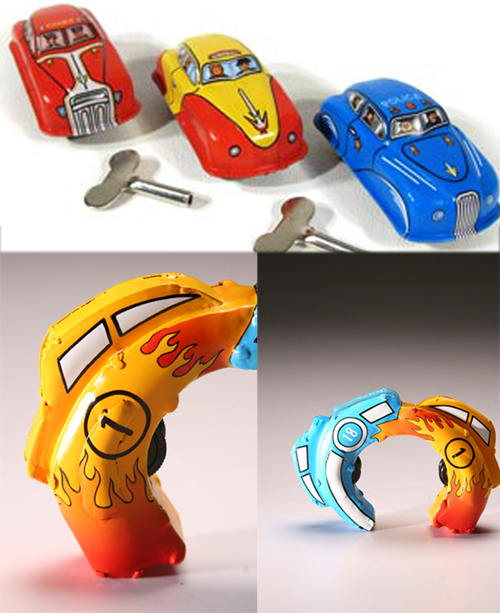 From Tin Toy to Jewelry  2 - Tin toy