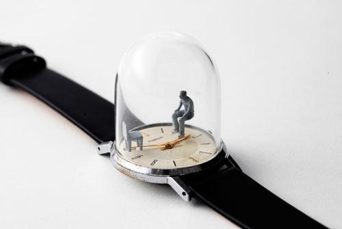Watch Sculptures 2 - Dominic wilcox