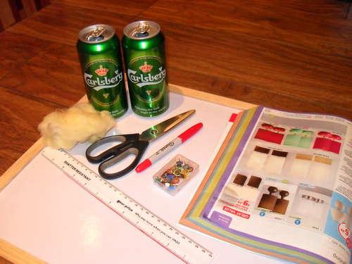 DIY เตาแอลกอฮอล์จากกระป๋องน้ำอัดลม Step 1