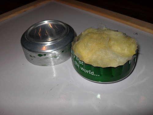 DIY เตาแอลกอฮอล์จากกระป๋องน้ำอัดลม Step 8
