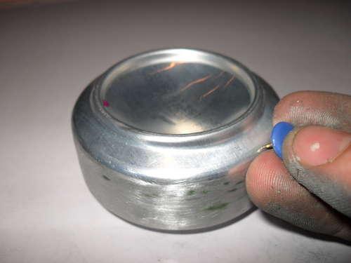 DIY เตาแอลกอฮอล์จากกระป๋องน้ำอัดลม Step 9