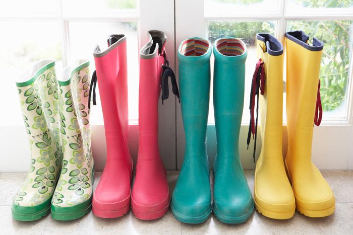 แฟชั่นรองเท้าบู๊ทยาง 13 - Rainboots