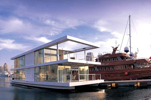 House Boat Design By X Architects And Leen Vandaele 1