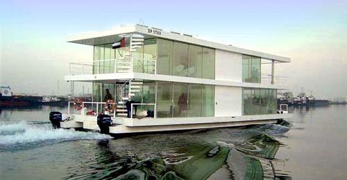 House Boat Design บ้านเรือ 13 - flood