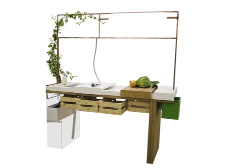 ห้องครัวในยุคต่อไป..ต้องนำขยะและน้ำทิ้งกลับมาใช้ปลูกผักในครัวได้