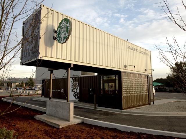 Starbucks Coffee สาขาล่าสุดด้วยแนว eco-friendly