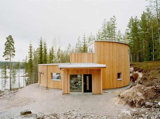 Villa Nyberg บ้านที่เป็นมิตรกับสิ่งแวดล้อม นำความร้อนมาใช้ใหม่