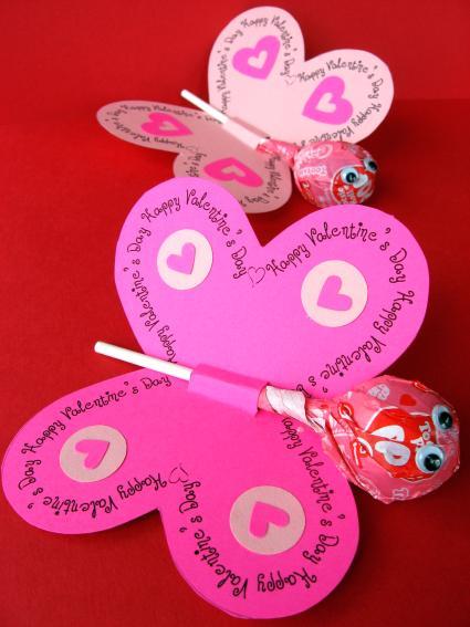 DIY.valentine lollipops