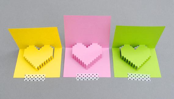 DIY Valentine POP UP CARD ทำการ์ด Handmade สุดเก๋ ส่งให้คนน่ารักกันเถอะ 2 - card