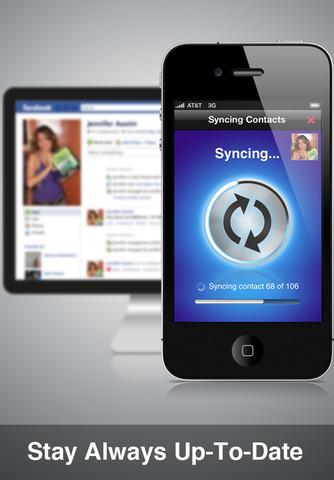 Smart Sync รวมเฟสบุ๊คกับไอโฟนเข้าด้วยกันอย่างลงตัว