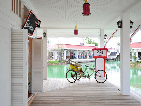"""เที่ยวสนุกทุกวันหยุดได้ที่ """"ตลาดน้ำหัวหินสามพันนาม"""" Floating market @Huahin 2 - Floating market"""
