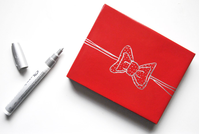 draw your own gift bows