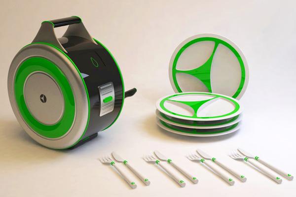 Eco Wash เครื่องล้างจานไม่ง้อไฟฟ้า  2 - Eco