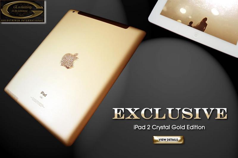 "iPad 2 Crystal Gold Edition ""ไอแพด 2 แพงที่สุดในโลก"" เครื่องละ 246 ล้านบาท 13 - iPad 2 Crystal Gold Edition"