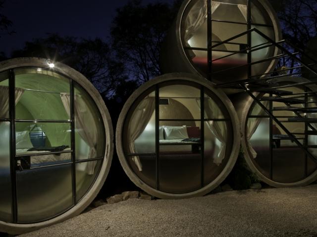 Tubo Hotel โรงแรมที่สร้างจากท่อ!!