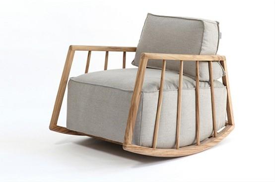 เก้าอี้โยกเหมือนนั่งตักแม่..Mama by Paratoner 13 - rocking chair
