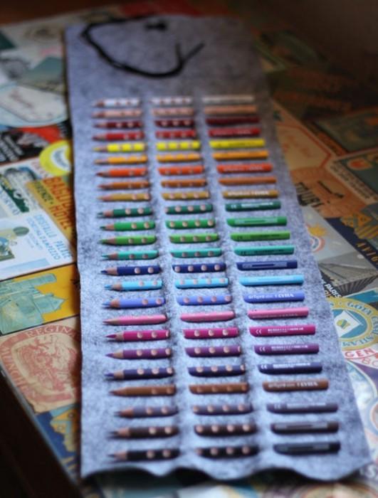DIY.กล่องดินสอสี ทำเองได้ง่ายๆ