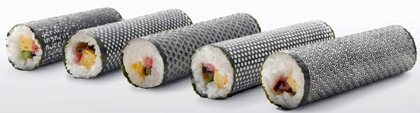 'Design nori' เมื่อสาหร่ายทำซูชิมีลวดลาย