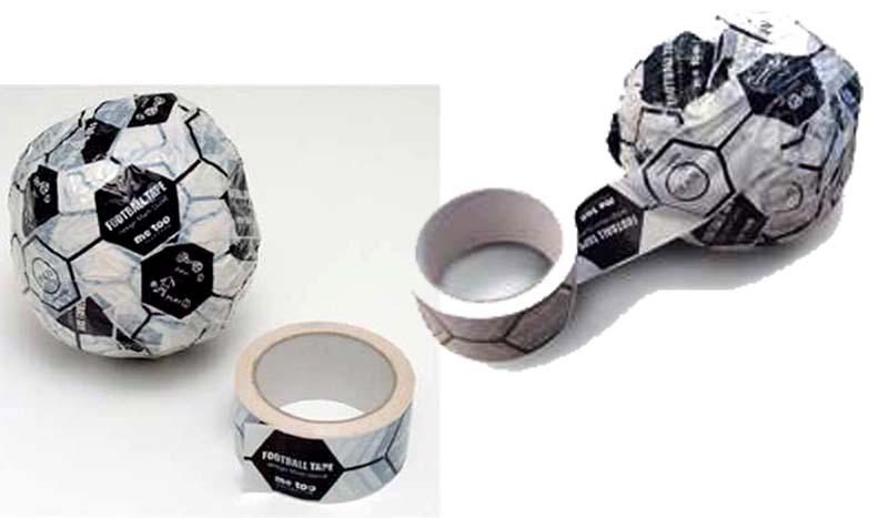 """Magis FOOTBALL TAPE"" DIY FOOTBALLs 2 - DIY"