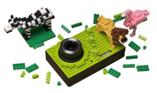 NB1000  กล้องที่ตกแต่งให้แตกต่างด้วยตัวต่อแบบเลโก้ 2 - Lego