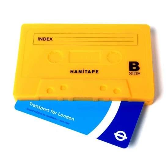 กระเป๋าสตางค์ทำจากยางซิลิโคน แนว Retro ..รูปทรง cassette tape 2 - cassette-tape