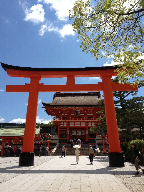Trip to Fushimi Inari Shrine - One thousand red gates 13 - Kyoto