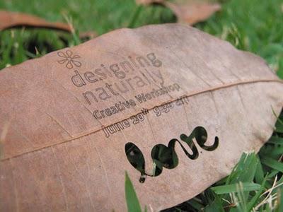 idea eco-friendly name card 2 - Business Card