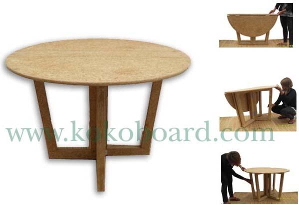 KOKO Board เฟอร์นิเจอร์ที่ผลิตจากวัสดุเหลือใช้ทางการเกษตร