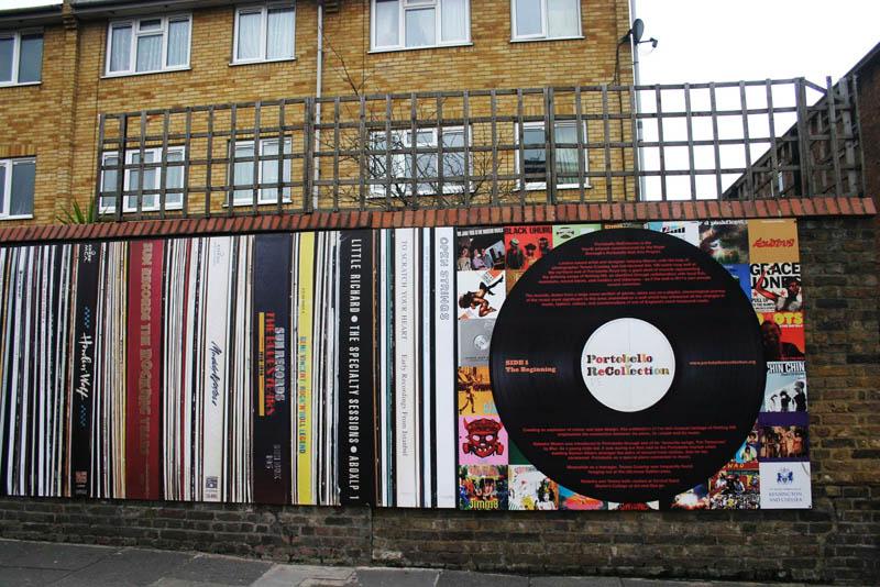 Wall of the Sound โครงการสนุกๆที่ตลาด Portobello ใจกลางกรุงลอนดอน 2 - Portobello
