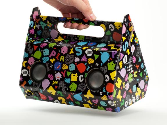 Eco-friendly sound packaging ลำโพงกระดาษ 2 - eco-friendly