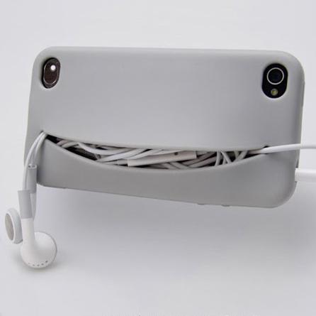 Feed Me iPhone Case...เคสน่ารักๆ มีปากยิ้ม ไว้ใส่ของ 13 -