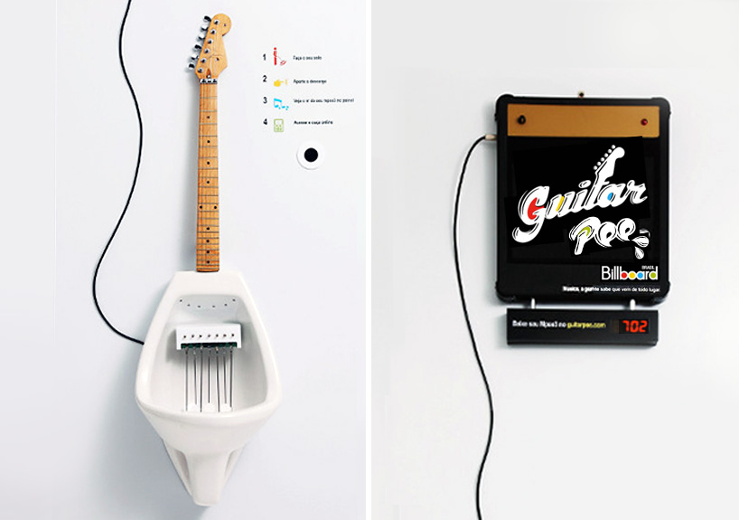 Make Your Own MPee 3 With a Guitar Urinal...โถปัสสาวะกีต้าร์ 13 - Guitar