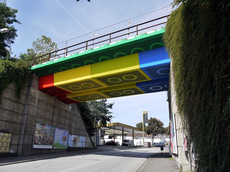 LEGO bridge in germany สะพานเลโก้ 2 - bridge