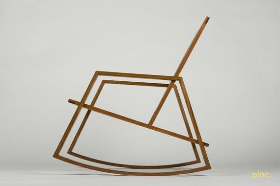 Minimalist Rocking Chair 2 - minimalist