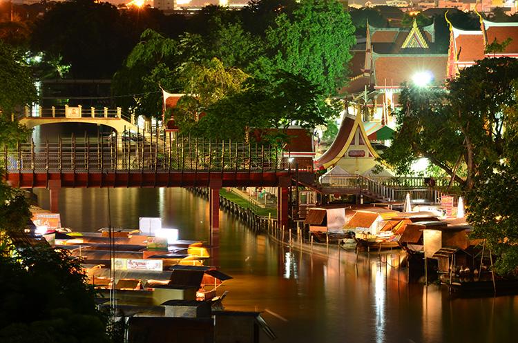 ตลาดนัดขวัญเรียม Kwan-Riam Floating Market 2 - Floating market