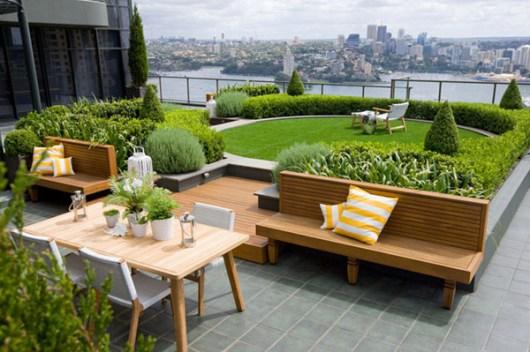 "Green on Rooftop Restaurant แนวคิดเรื่อง ""สวนครัวบนตึก ระฟ้า"""