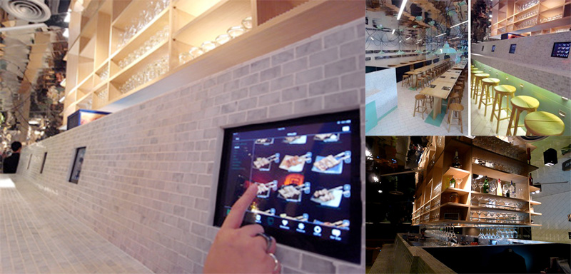 "KOOON by Indies'Kitchen ร้านอาหาร ""คูณ"" ความอร่อยและความสนุก เพิ่มขึ้นอีกเท่าตัวด้วย ระบบการสั่งอาหารผ่านแอพ ในเครื่อง Ipad 2 - iPad 2"