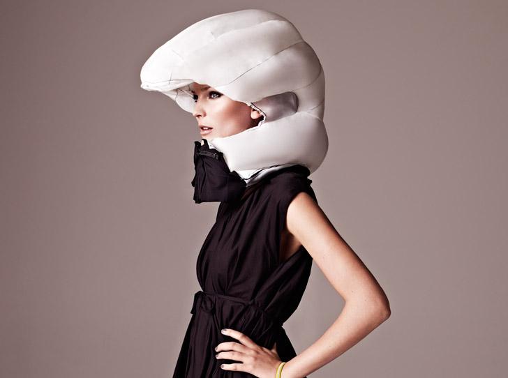 Invisible Bike Helmet...หมวกกันน๊อกแบบล่องหน 2 - helmet