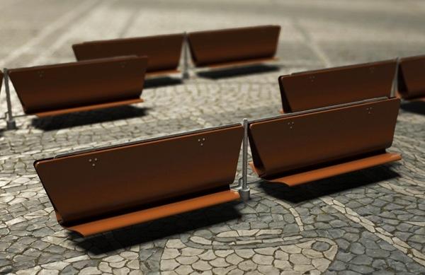 Flip-Floppin' Bench..ม้านั่งตีลังกาเป็นหลังคากันแดดกันฝน