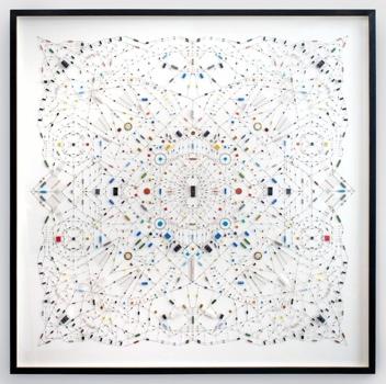 ศิลปะจากไอซีวงจรคอมพิวเตอร์ 13 - Mandala