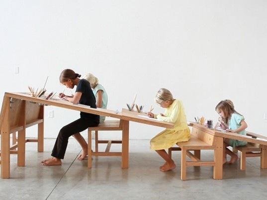 Growth Table..โต๊ะทำงานตัวเดียวสำหรับทุกคนในครอบครัว 13 -