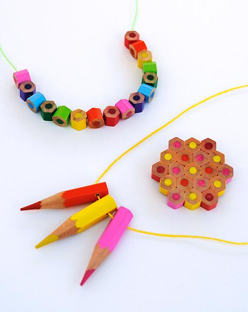 DIY.jewelry จากดินสอสีไม้